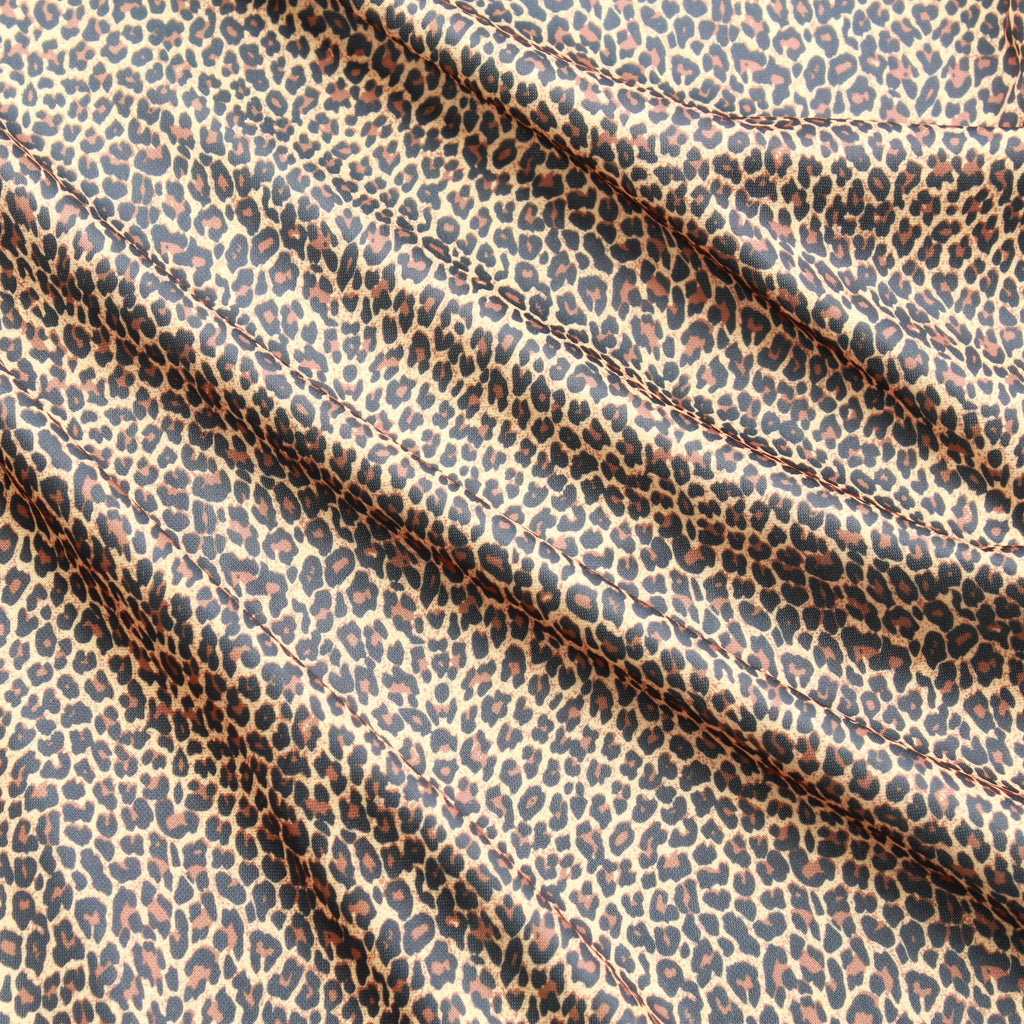 Leopard Print, Polyester Fabric, 60""