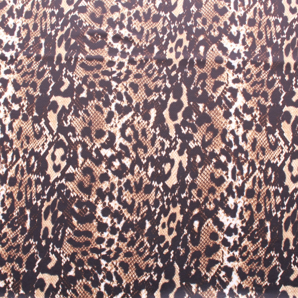Snakeskin Print, Polyester Fabric, 60""
