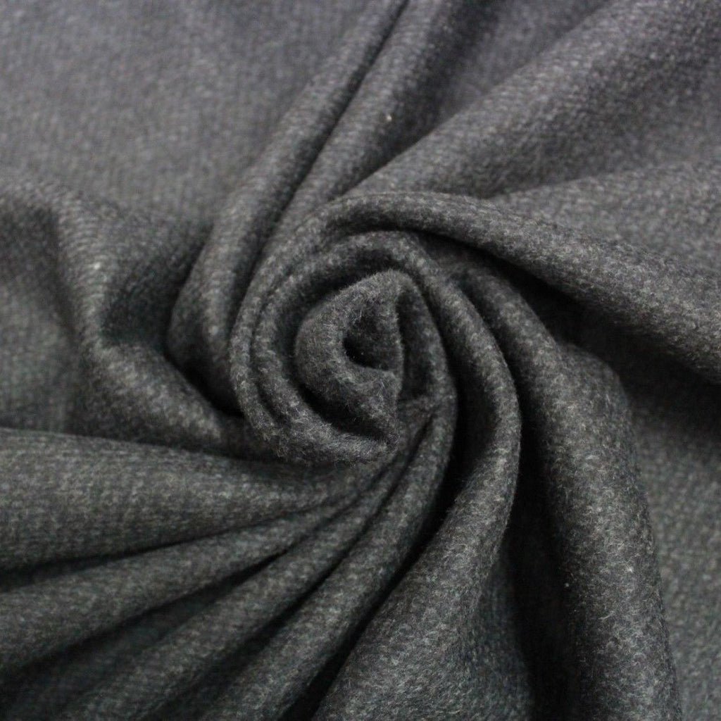 Premium Heavy Wool Blend Cross Weave Fabric