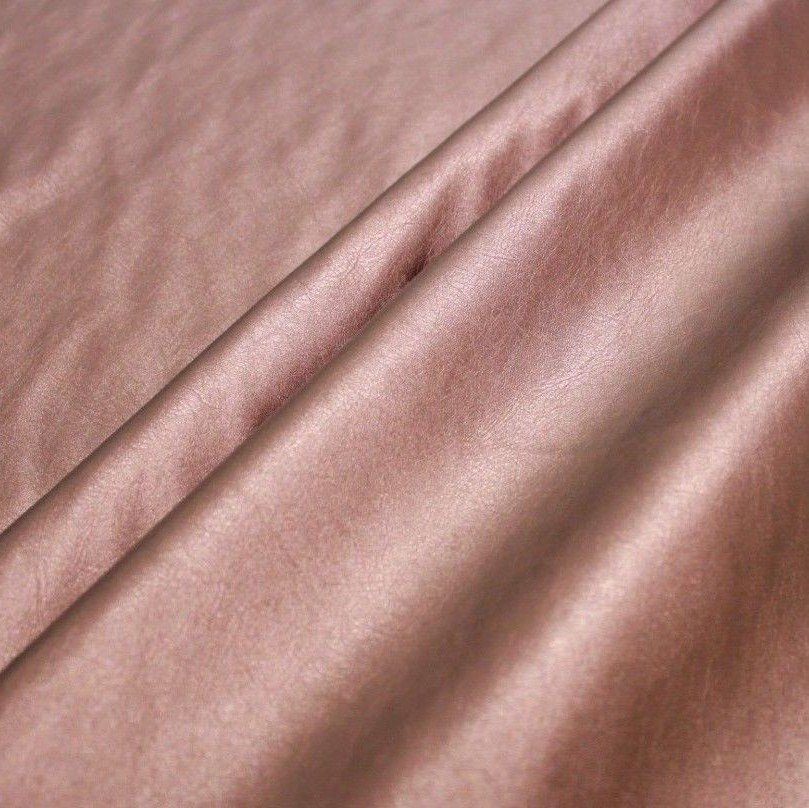 Soft Spandex Pearl Faux Leather Copper