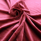 Super Soft Premium Velvet Fabric PO81/8 Wine