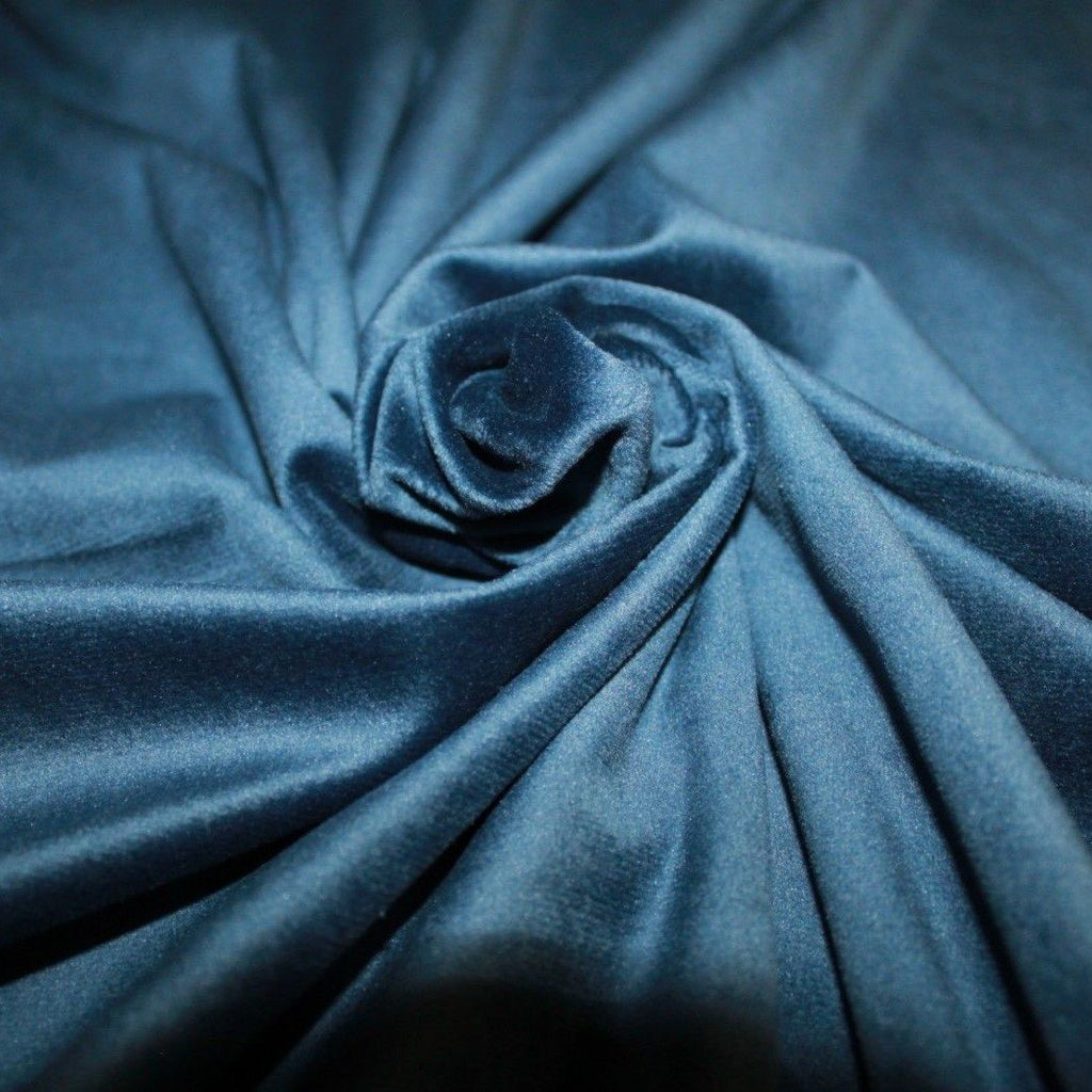 Super Soft Premium Velvet Fabric PO81/9 Navy