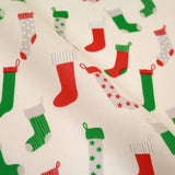 Premium Printed Christmas Polycotton Stockings