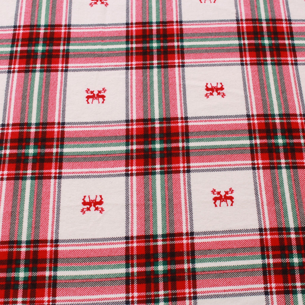 Christmas Tartan Brushed Cotton ST168-3