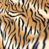 Printed Polar Anti Pill Fleece Tiger Print