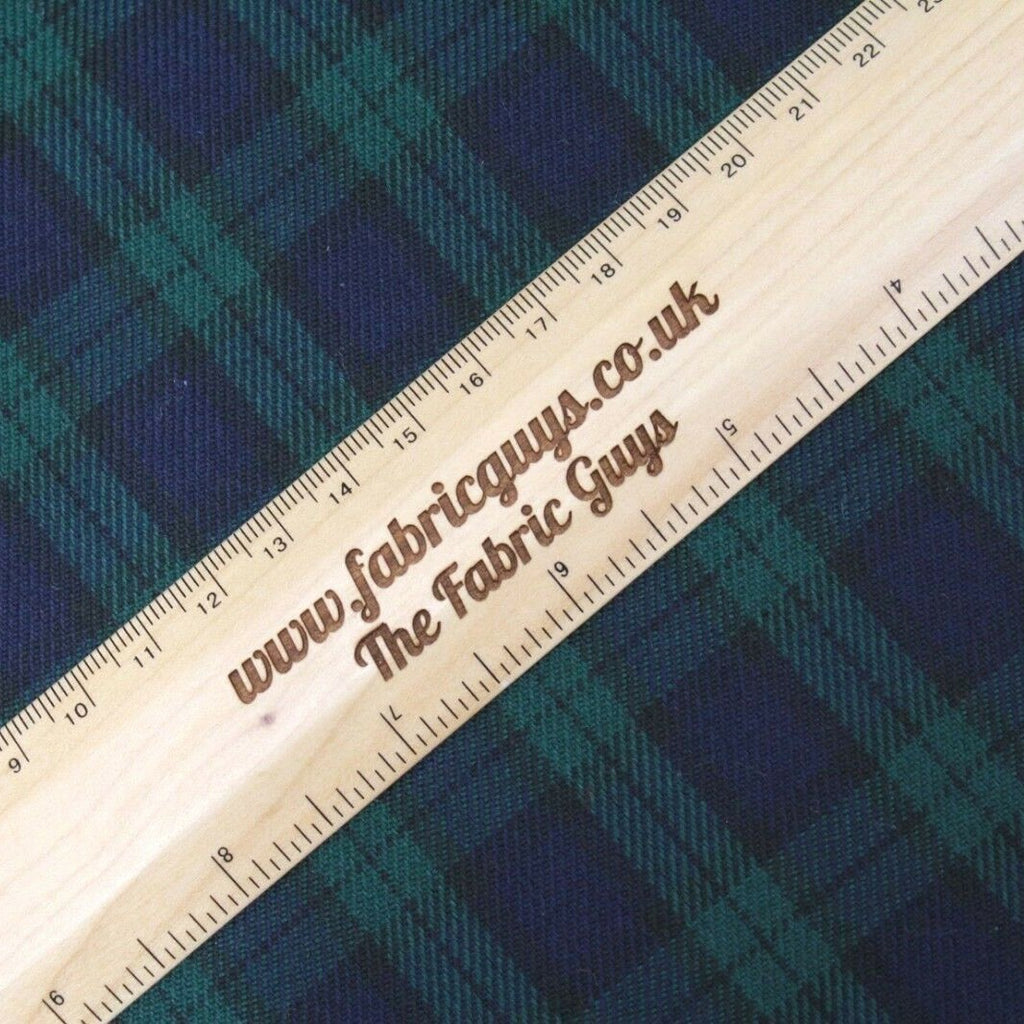 Polyviscose Plaid Check Tartan Fabric