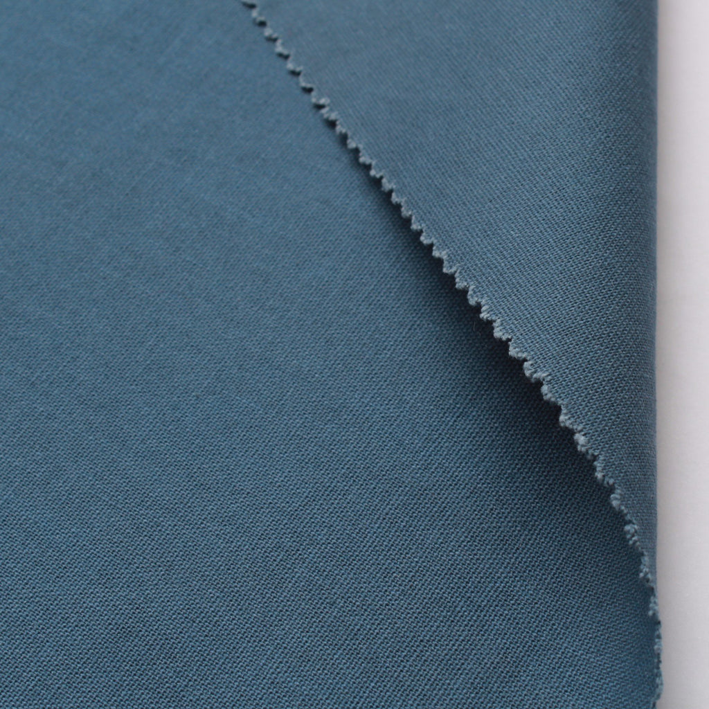 "100% Cotton Canvas, Plain 44"" - Blue 210 GSM"