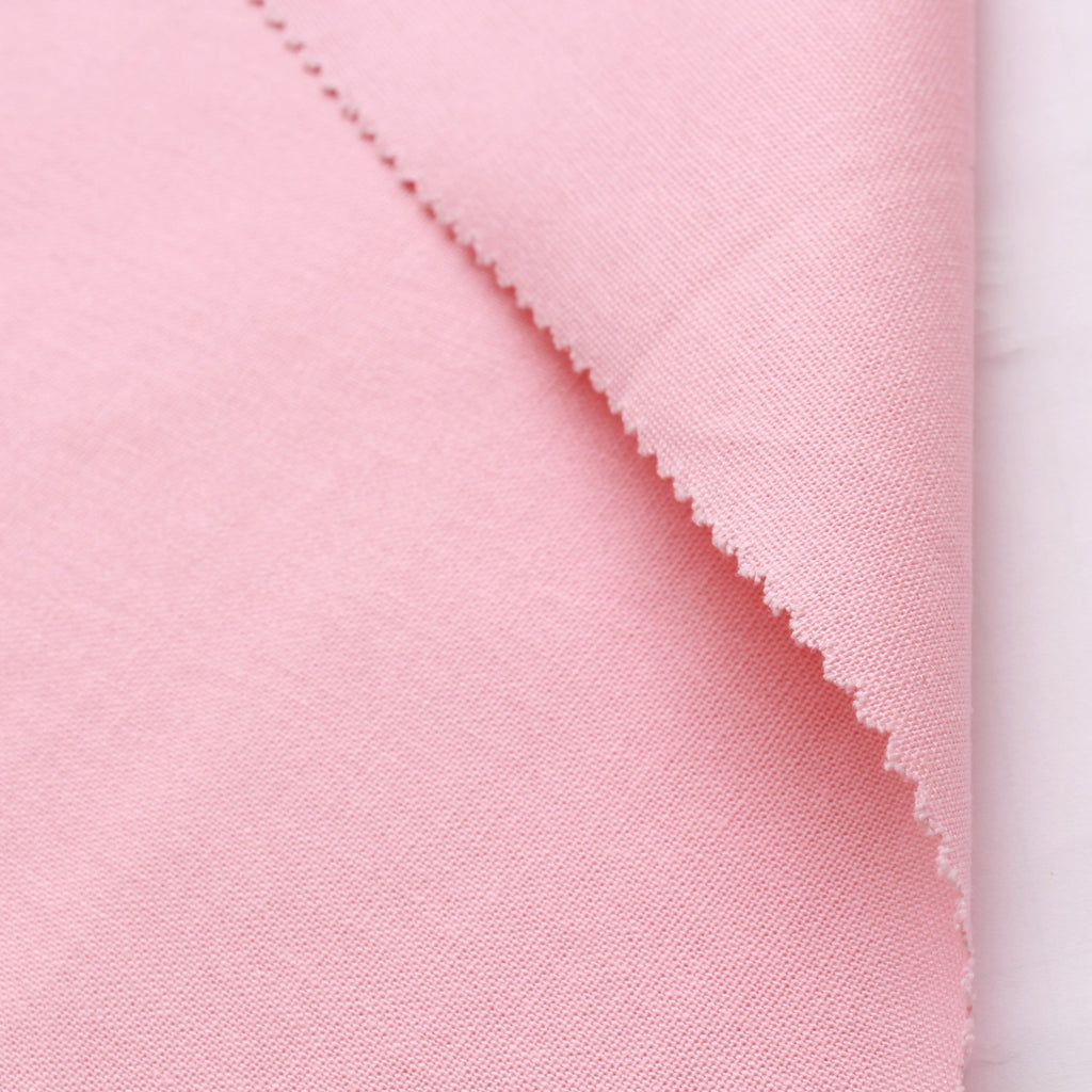 "100% Cotton Canvas, Plain 44"" - Light Pink 210 GSM"