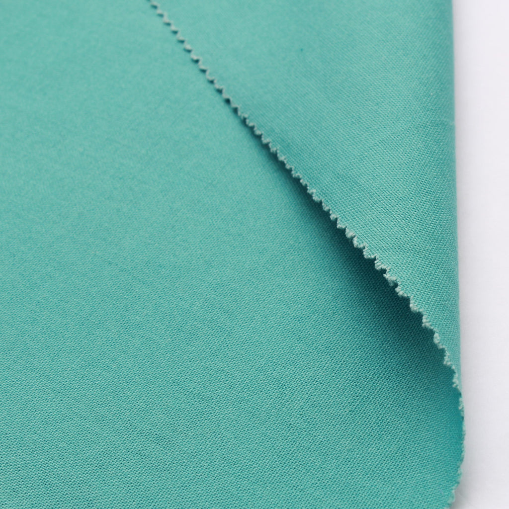 "100% Cotton Canvas, Plain 44"" - Turquoise 210 GSM"
