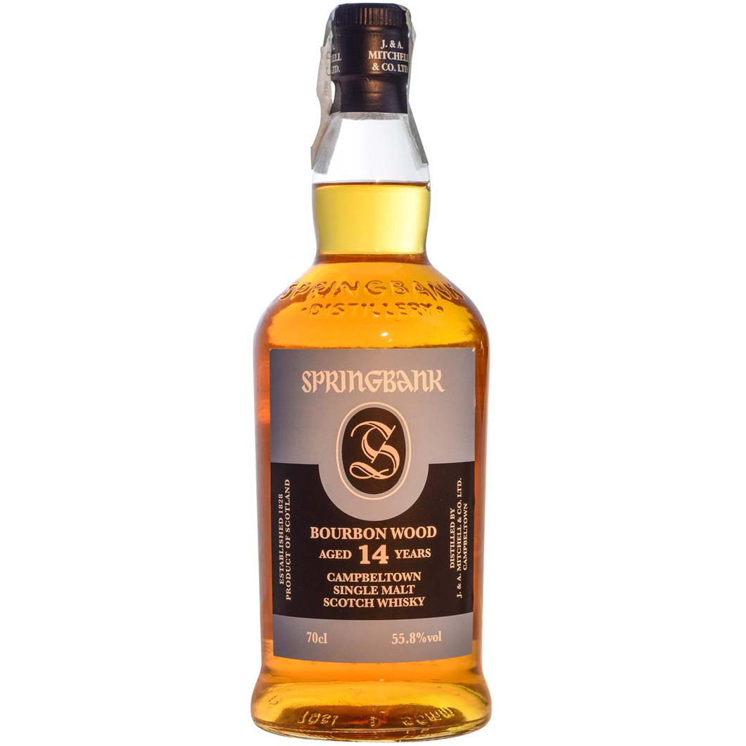 Springbank 2002 Bourbon Wood (14 Years Old) 0.7L,Springbank, wevino.store