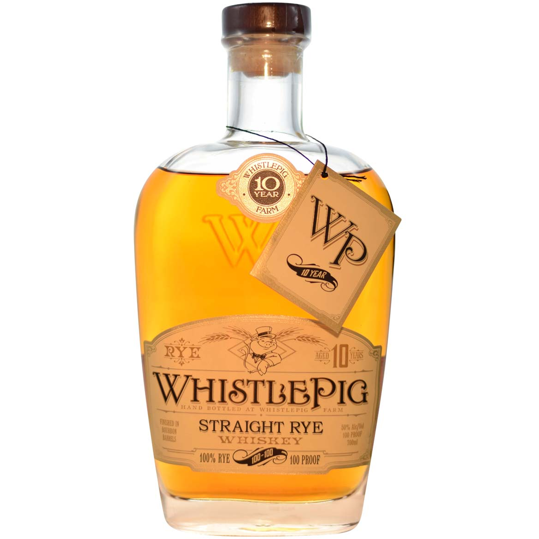 Whistlepig 10 Years Old Straight Rye 0.7L,Whistlepig, wevino.store