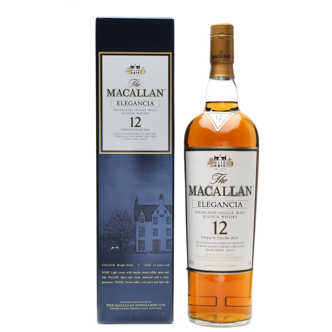 The Macallan Elegancia 12 Years Old 1.0L