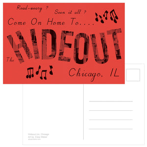 Hideout Postcards: Road Trip Edition