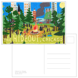 Limited Edition Hideout Postcards