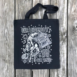 """Our Hideout"" Tote Bag"