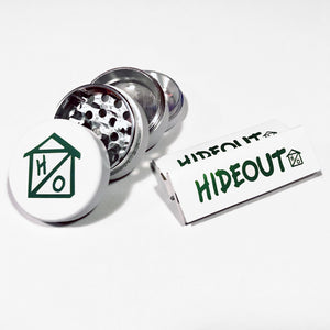 Hideout Grinder + Rolling Papers
