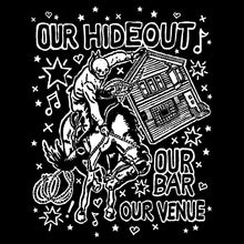 "Load image into Gallery viewer, ""Our Hideout"" Short Sleeve Shirt"