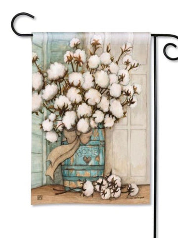 31860 Cotton Balls Garden Flag (Flag Stand Sold Separately)