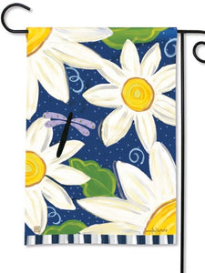 Daisy Blues Garden Flag (Flag Stand Sold Separately)