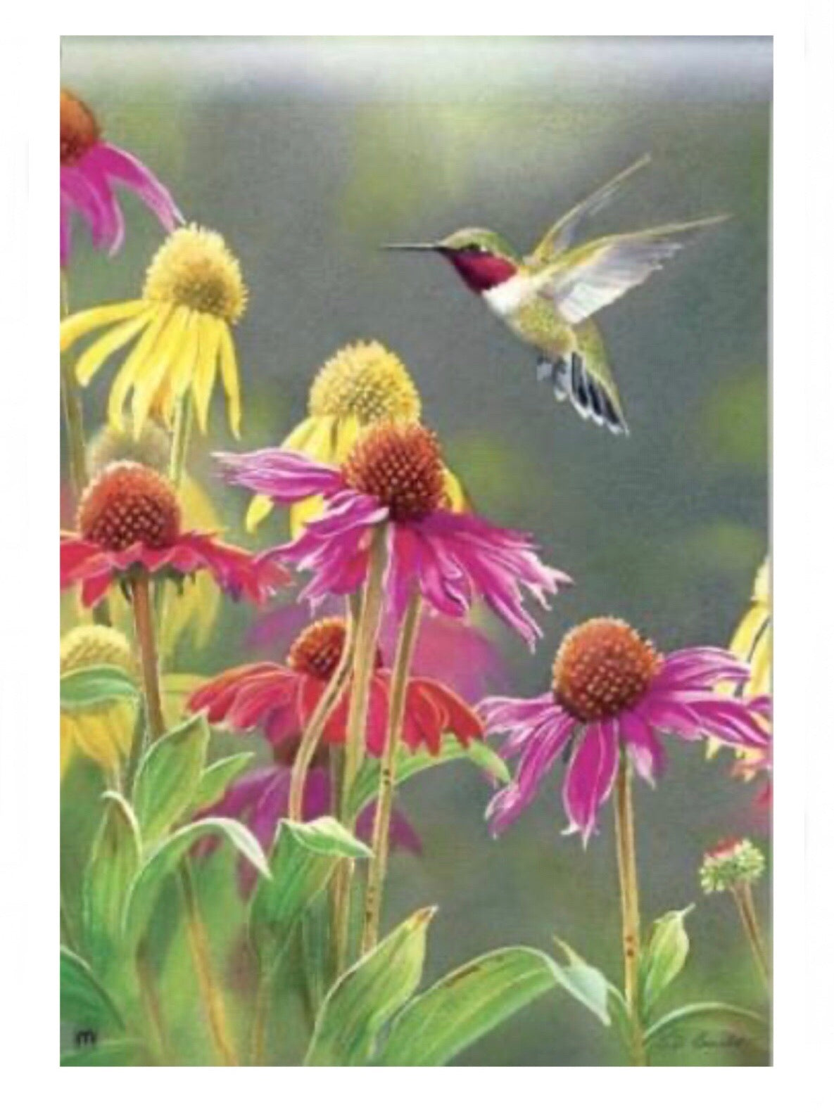 Hummingbird Heaven Standard Flag (Flag Pole Sold Separately)