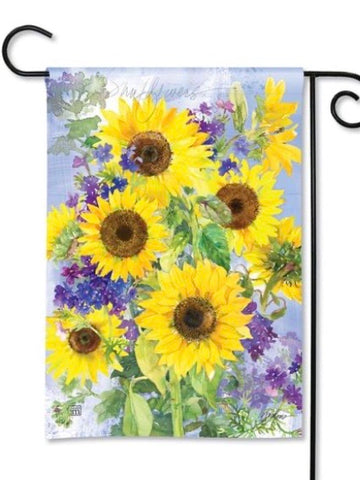 31842 Sunflower Burst Garden Flag (Flag Stand Sold Separately)