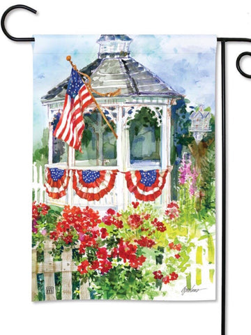 31680 All-American Garden Flag (Flag Stand Sold Separately)