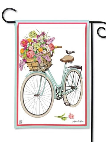 Bicycle Ride Garden Flag (Flag Stand Sold Separately)