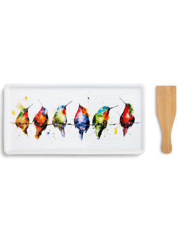 Hummers on a Wire Appetizer Tray with Spatula