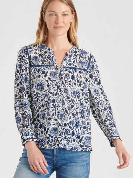 LB7W45447 BMU Blue Multi Popover Top