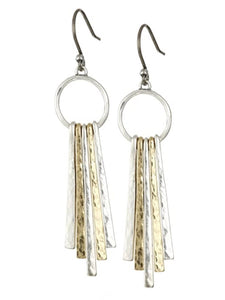 JLRU9829 760 Metal Paddle Earrings