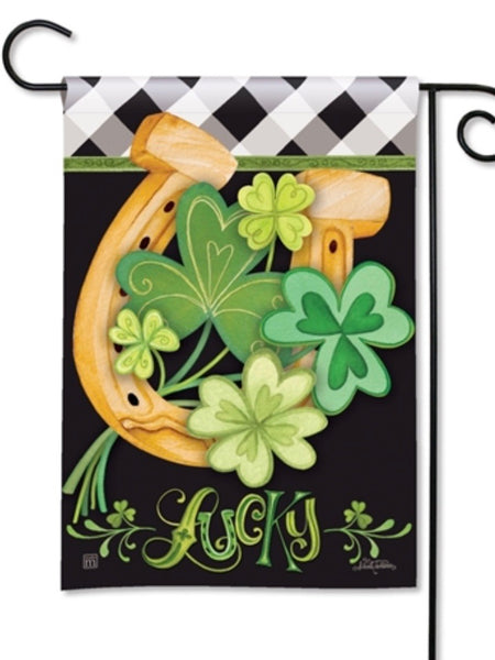Lucky to be Irish Garden Flag (Flag Stand Sold Separately)