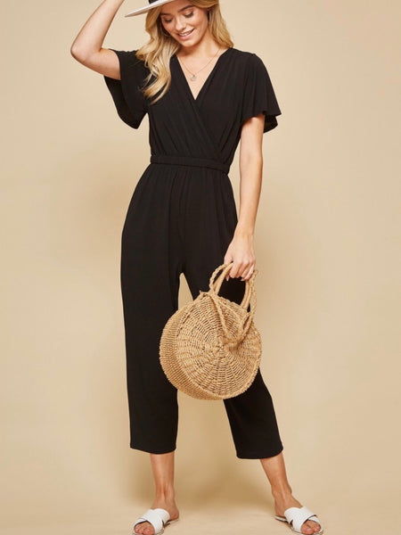 AN131526 Black Jumpsuit