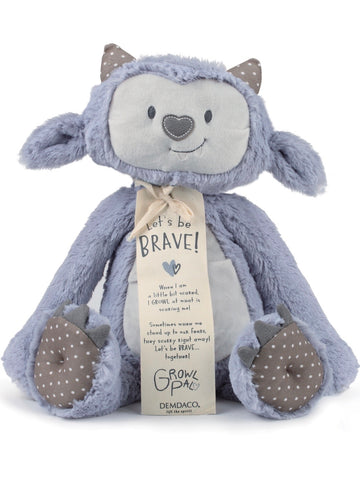 Be Brave Growl Pal Plush Toy