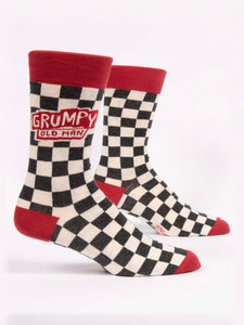Men's Grumpy Old Man Crew Socks