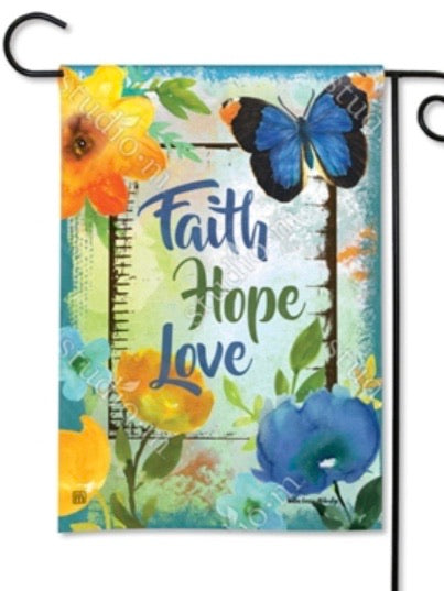 Have Faith Hope Garden Flag (Flag Stand Sold Separately)