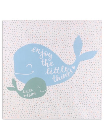 Enjoy the Little Things Swaddle