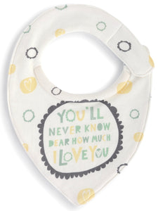Sunshine Drool Buster Bib by Zoe Ingram