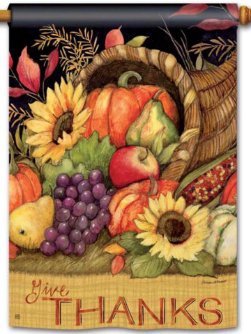 Harvest Blessings Standard Flag (Flag Pole Sold Separately)
