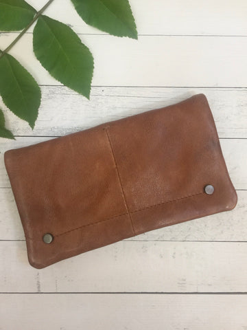 3138 Cognac Terry Wallet