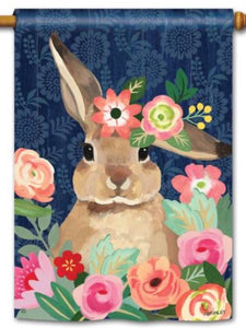 Bunny Bliss Standard Flag (Flag Pole Sold Separately)
