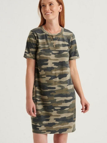 LB7W91817 GMU Camo Summer Tee Dress