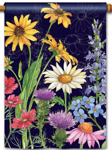 Wildflower Mix Standard Flag (Flag Pole Sold Separately)