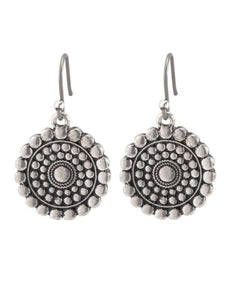 JLRU9719 Tribal Drop Earring