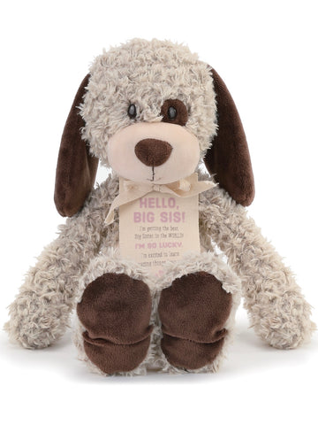 Big Sister Plush Puppy