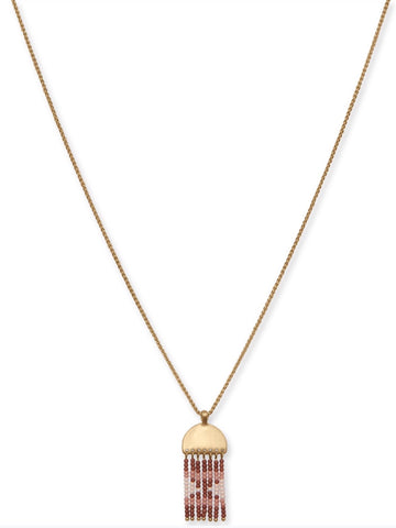 JWEL4072 710 GOLD BEADED NECKLACE