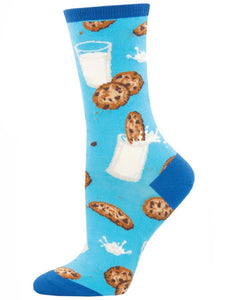 Women's Mmm Cookies Socks Blue