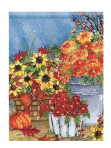 Mums the Word Garden Flag (Flag Stand Sold Separately)
