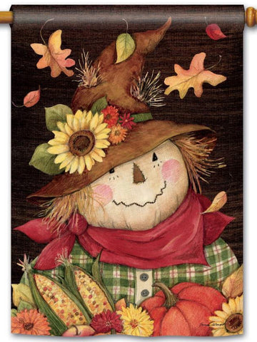Autumn Scarecrow Standard Flag (Flag Pole Sold Separately)