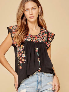 Leilani Top - Black