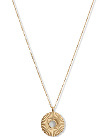 JWEL4243 710 DISK NECKLACE